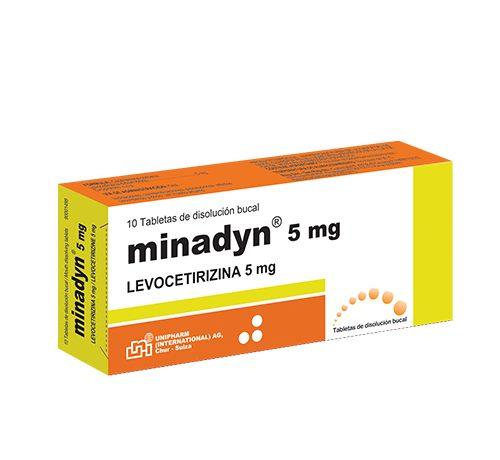 Presentacion Minadyn 5mg