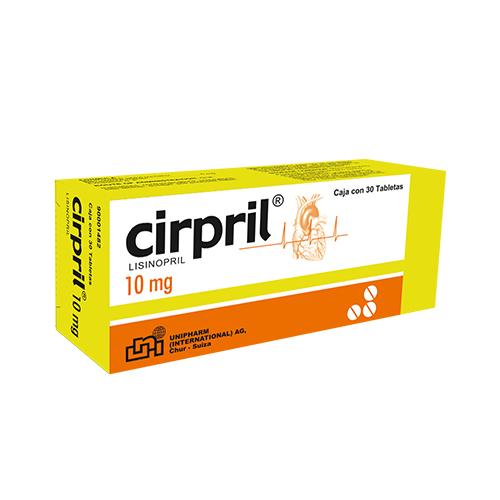 Presentacion Cirpril 10mg