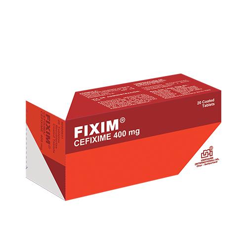 Presentacion FIXIM 400mg