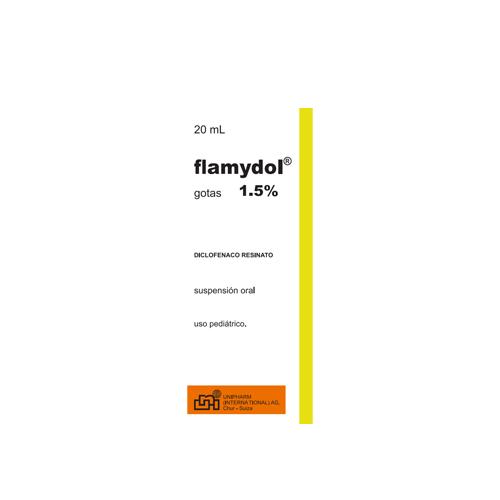 Presentacion Flamidol Gotas