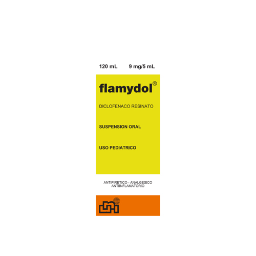 Presentacion Flamydol 9mg