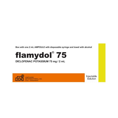Presentacion Flamydol Inyectable