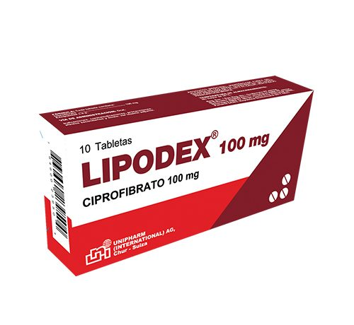 Presentacion Lipodex 100mg