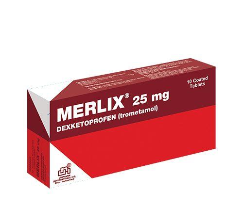 Presentacion Merlix 25mg