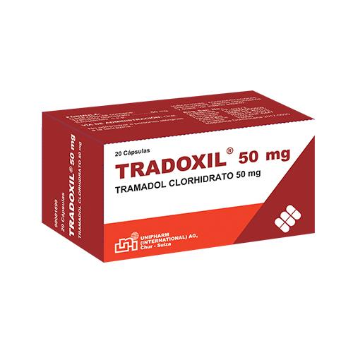 Presentacion Tradoxil 50mg