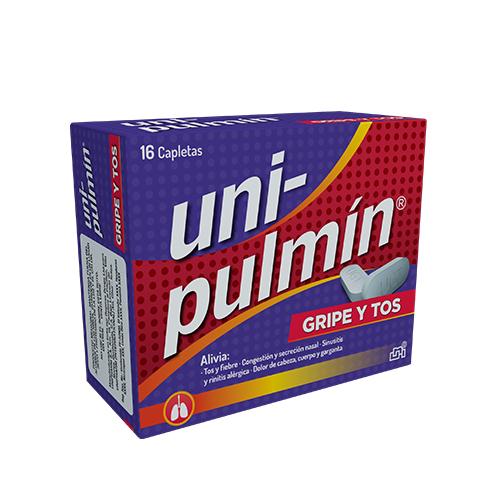 Presentacion Unipulmin Gripe y Tos